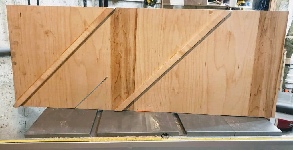 Bottom of Picture Frame Jig