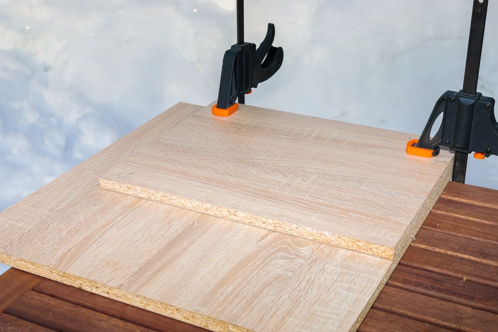 Face Gluing Boards For Additional Thickness